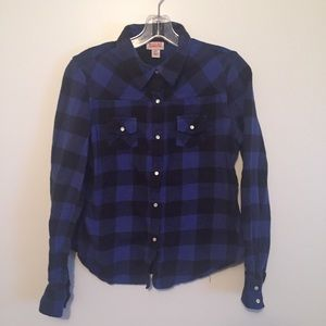 Mossimo Supply Co. plaid button up shirt